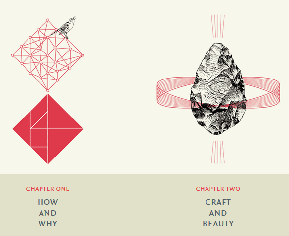 The Shape of Design chapter headings