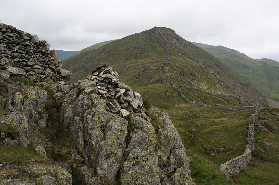 The cairn at Low Pike
