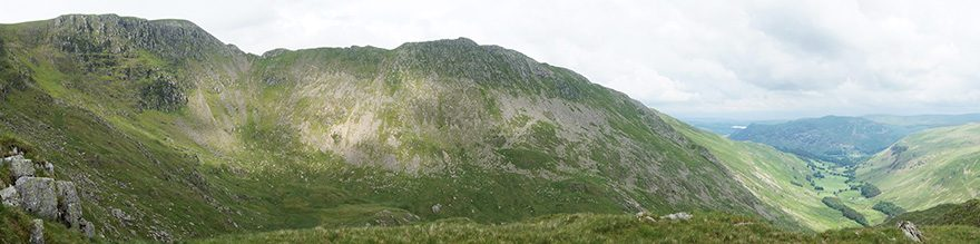Striding Edge and Grisedale