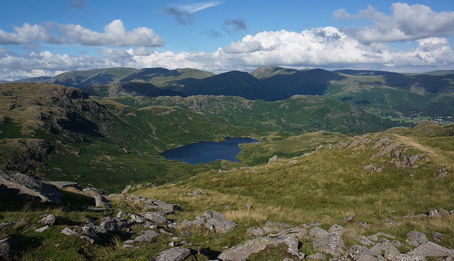 View of Easedale Tarn