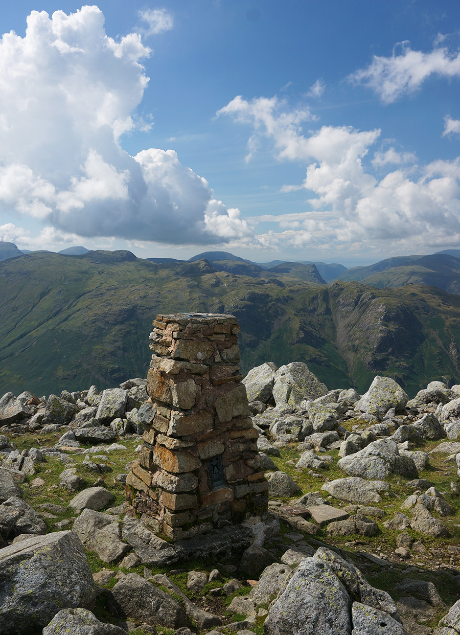 View from the summit of High Raise