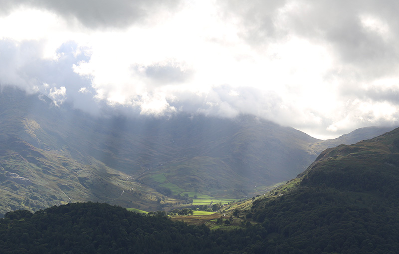 Great Langdale from Loughrigg Fell