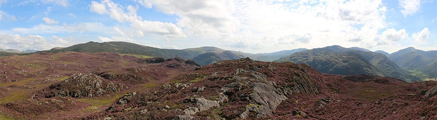 The view from Great Crag