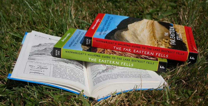 Wainwright's walking guides to the Lake District fells