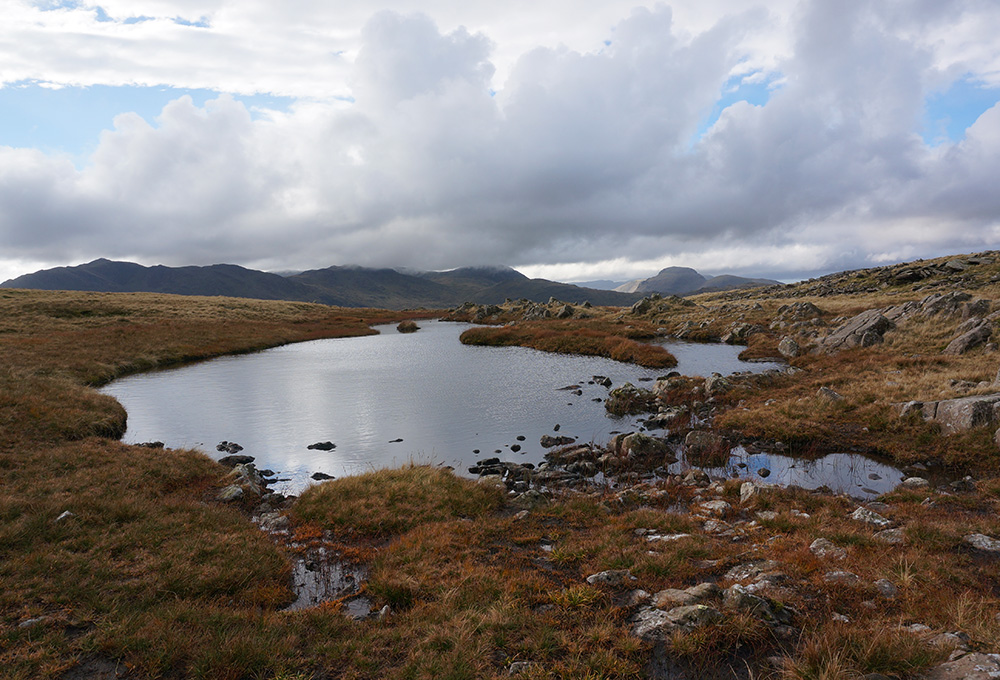 The tarn at Thunacar Knotts