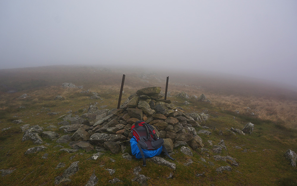 Ulscarf summit cairn