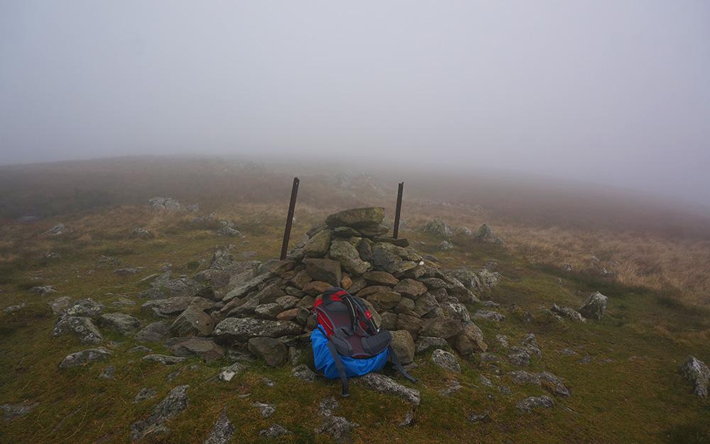 Ulscarf summit cairn