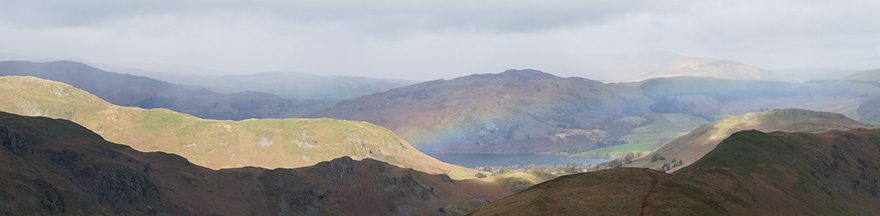 Rainbow over Ullswater