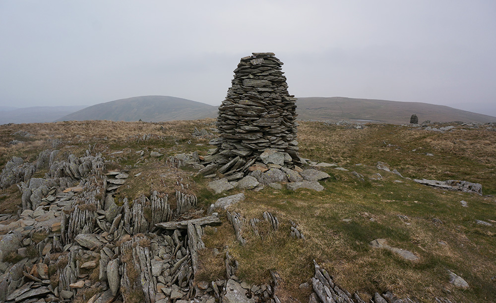 One of the beehive cairns at Artlecrag Pike