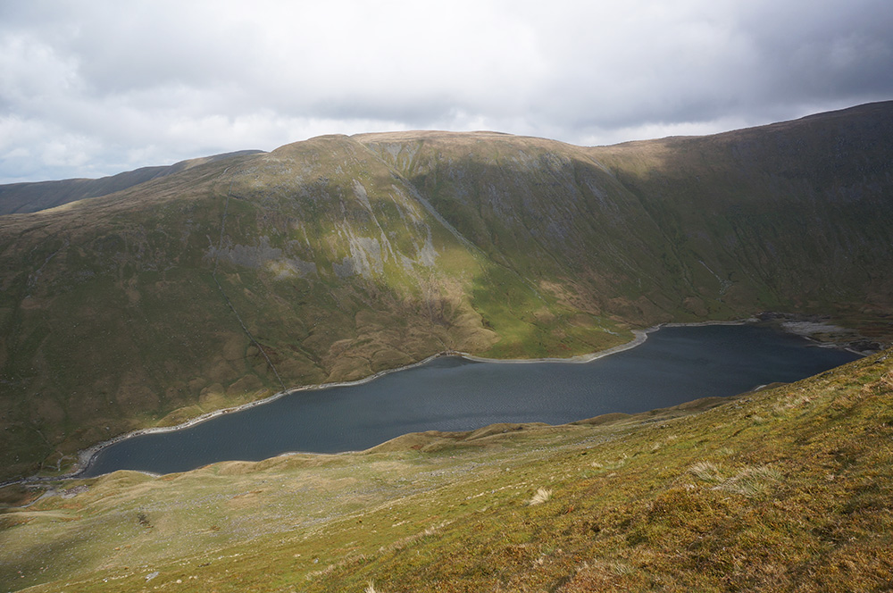 Hayeswater and The Knott from Grey Crag