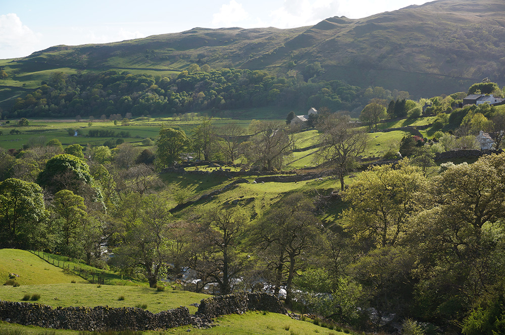 Kentmere in the late afternoon sun