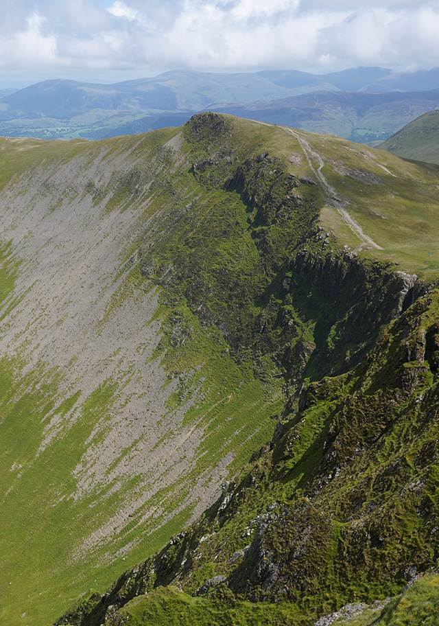 The view east from Hopegill Head
