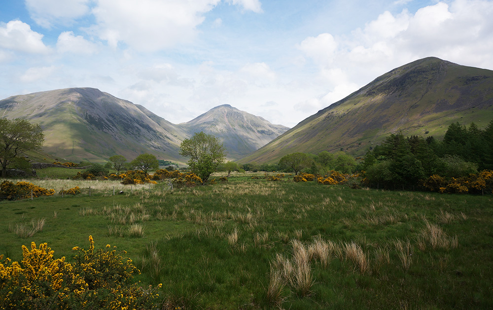 Kirk Fell, Great Gable and Lingmell