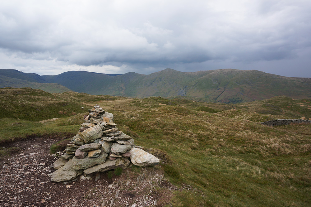 Wansfell summit cairn