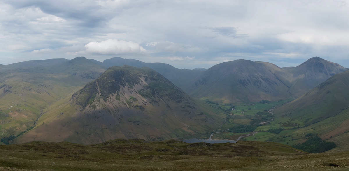 Yewbarrow and Wasdale Head