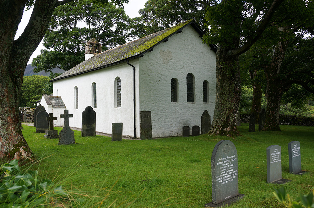 The very pretty and well-kept Newlands Church
