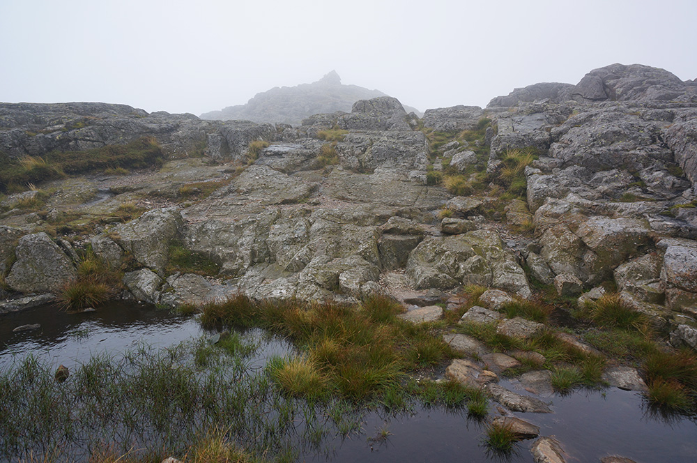 The summit at Pike o'Blisco