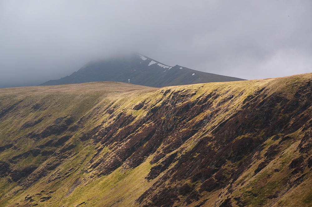 Bannerdale Crags and Blencathra