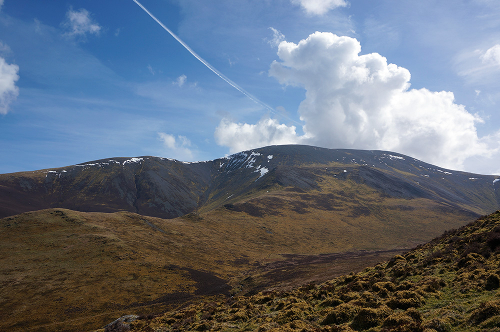Skiddaw from The Edge