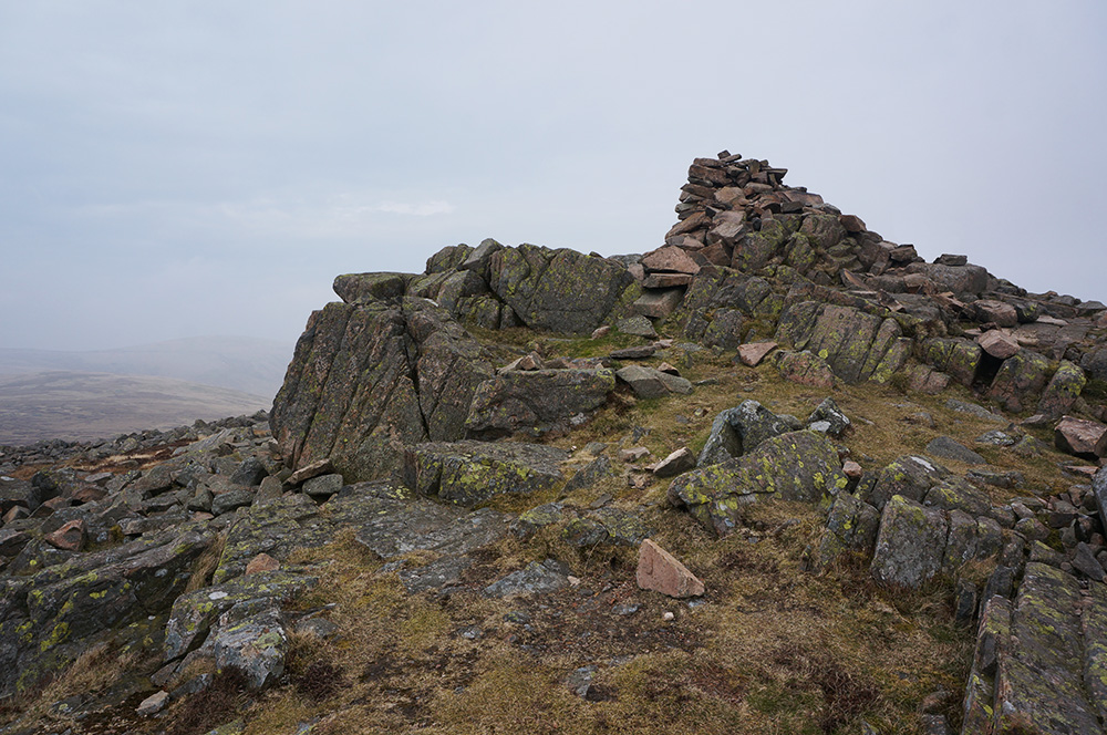 The summit of Carrock Fell