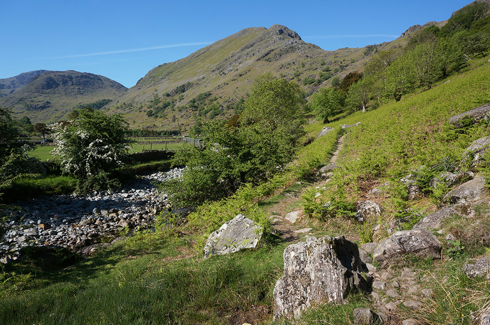Footpath to Seathwaite