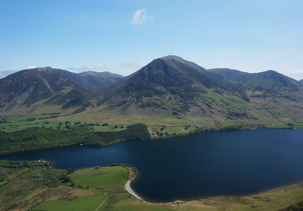 Grasmoor and Crummock Water