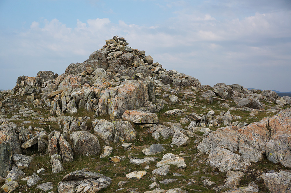 Allen Crags summit cairn