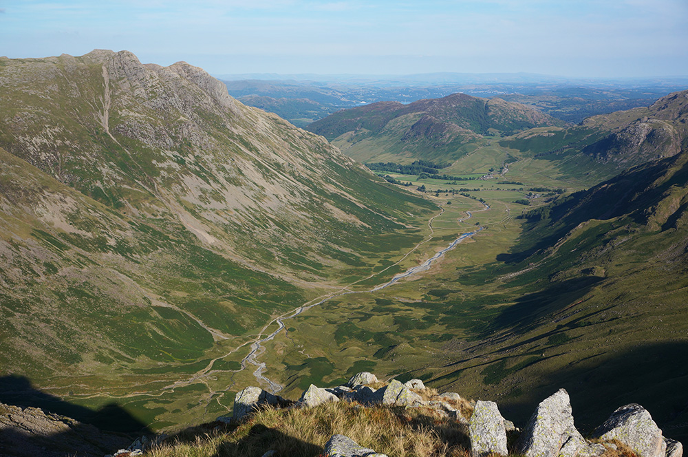 Mickleden from Rossett Pike