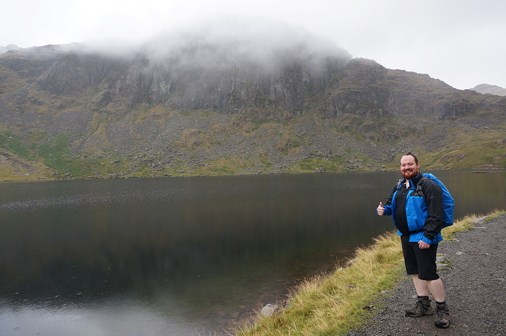 Remco at Stickle Tarn