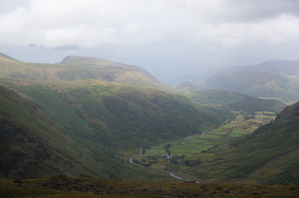 Seathwaite from Seathwaite Fell