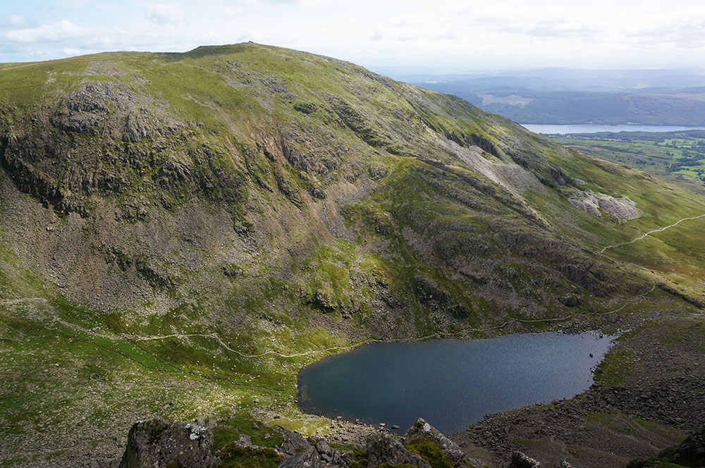 Coniston Old Man and Goat's Water