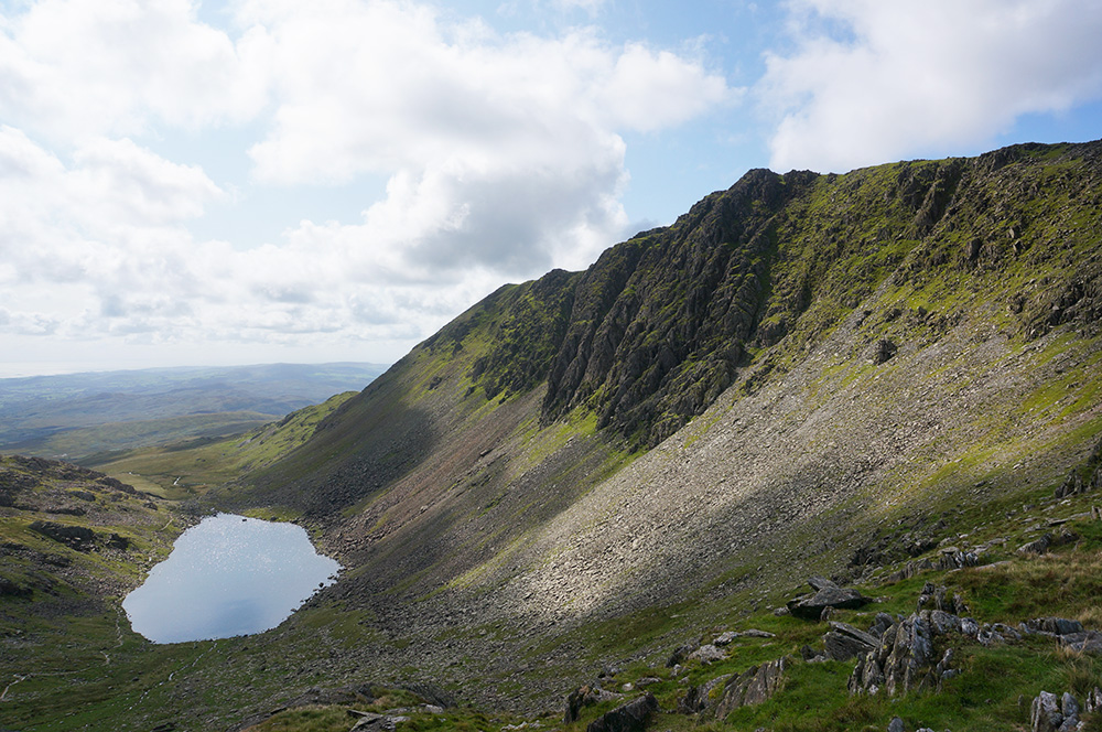 Goat's Water and Dow Crag
