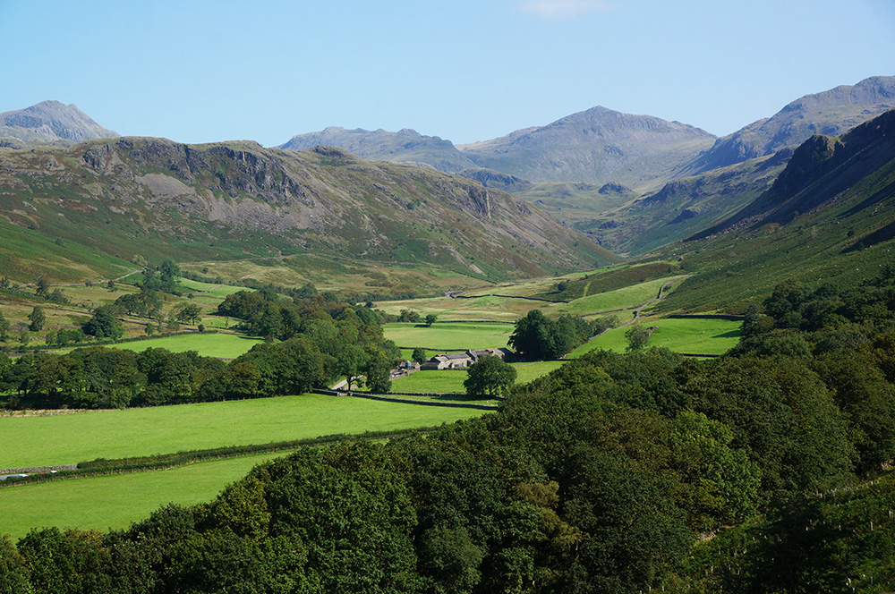 Upper Eskdale and Bowfell