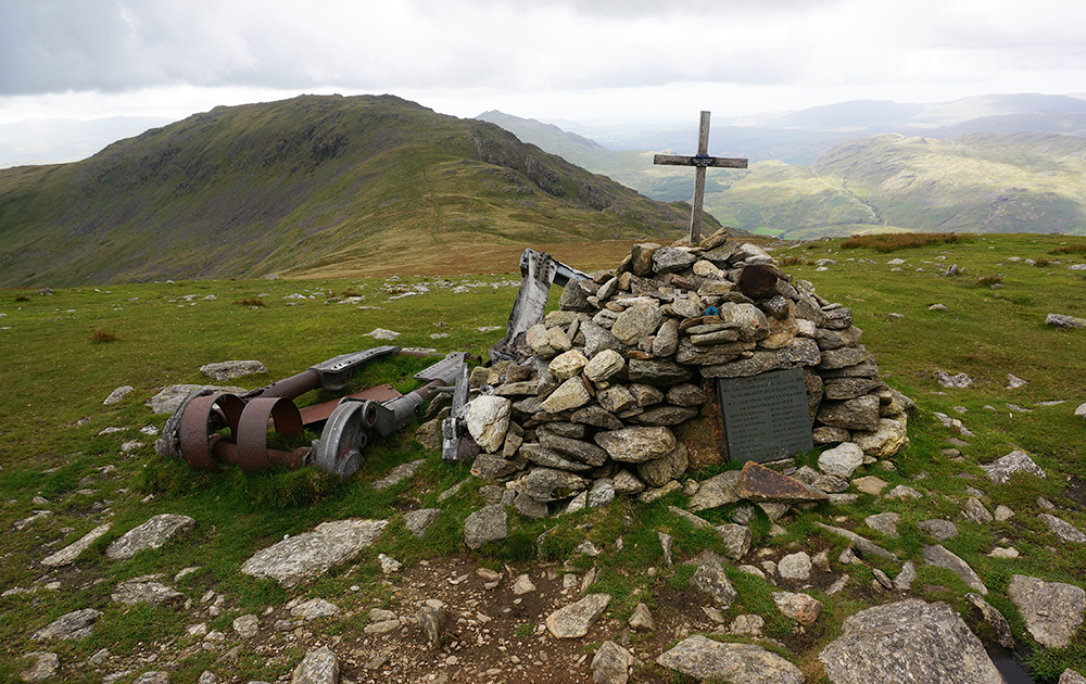 Hlafax bomber crash site