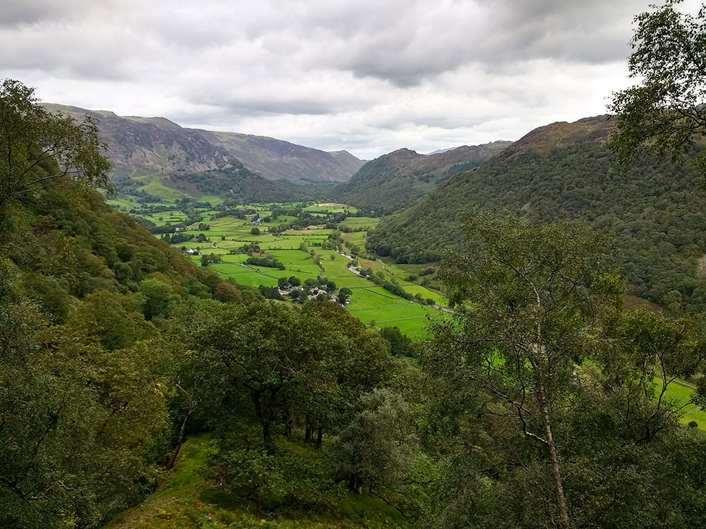 Rosthwaite and Borrowdale