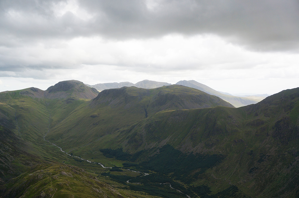 Upper Ennerdale and Great Gable