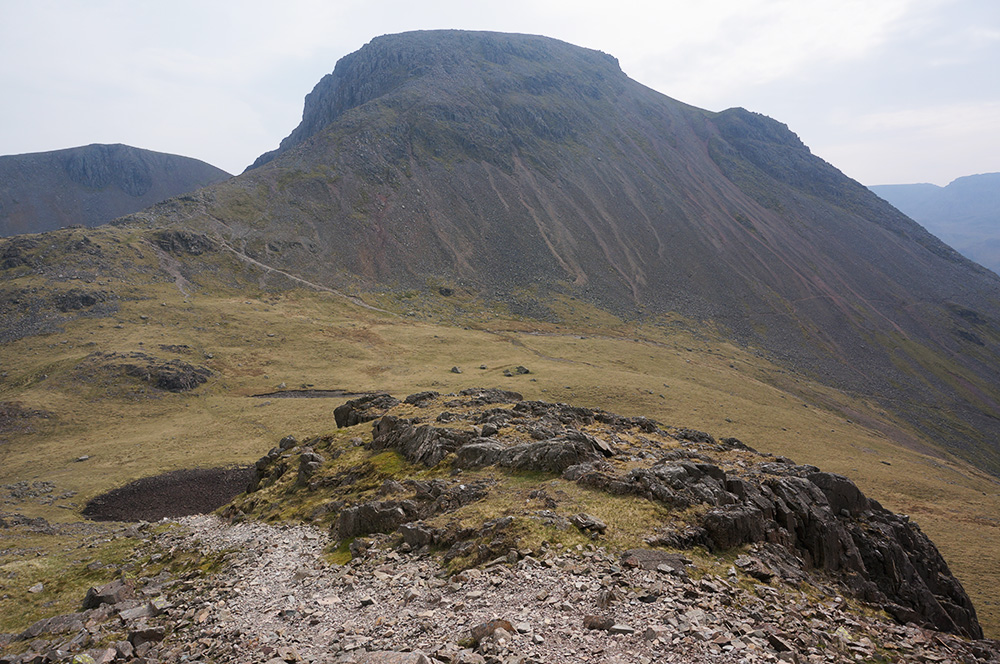 Great Gable screes