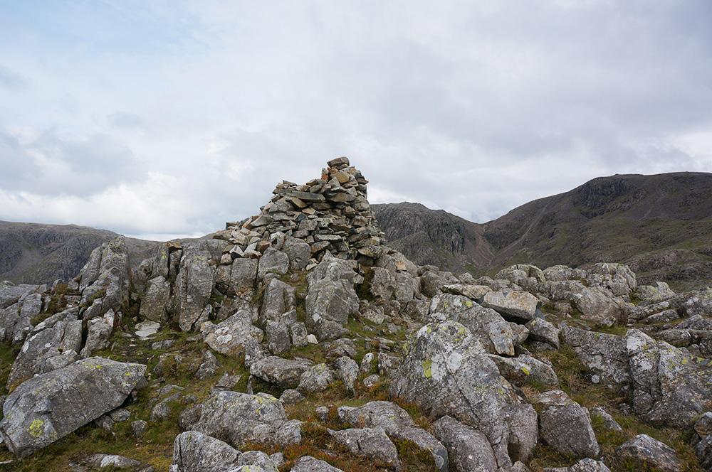 Lingmell summit