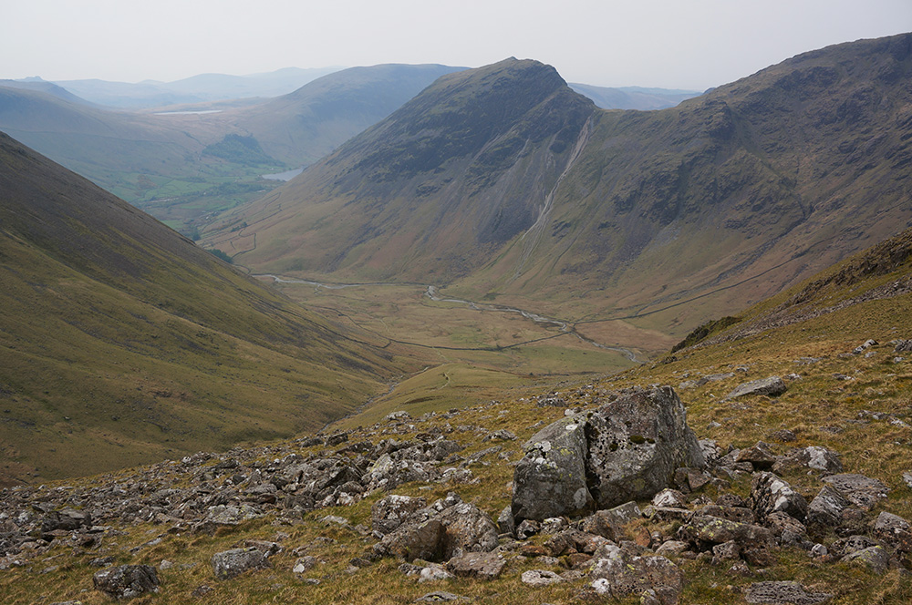 Mosedale from above