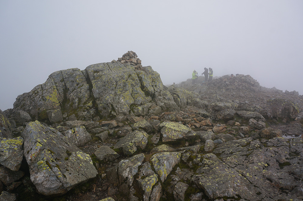 Scafell summit