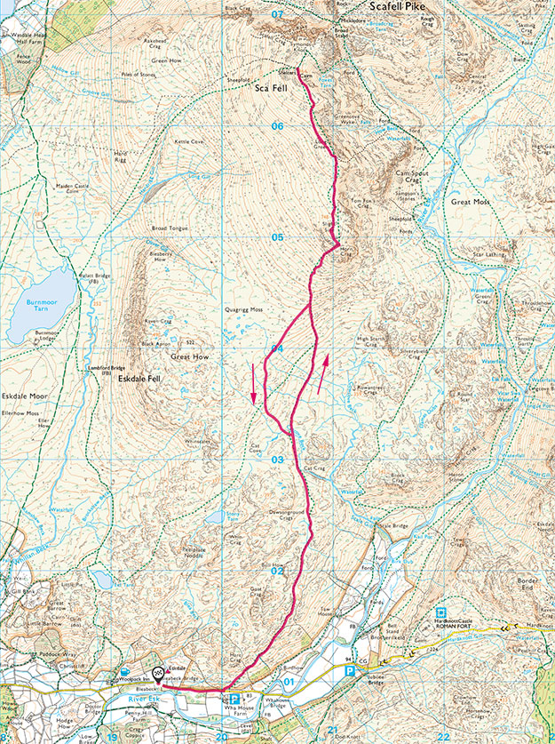 Scafell route