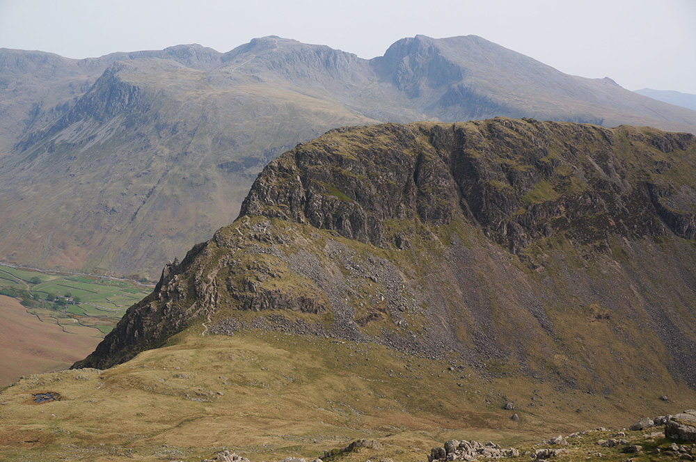 Stirrup Crag on Yewbarrow