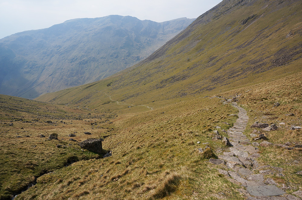 Pitched path at Mosedale