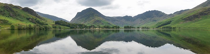 Fleetwith Pike and Haystacks from Buttermere