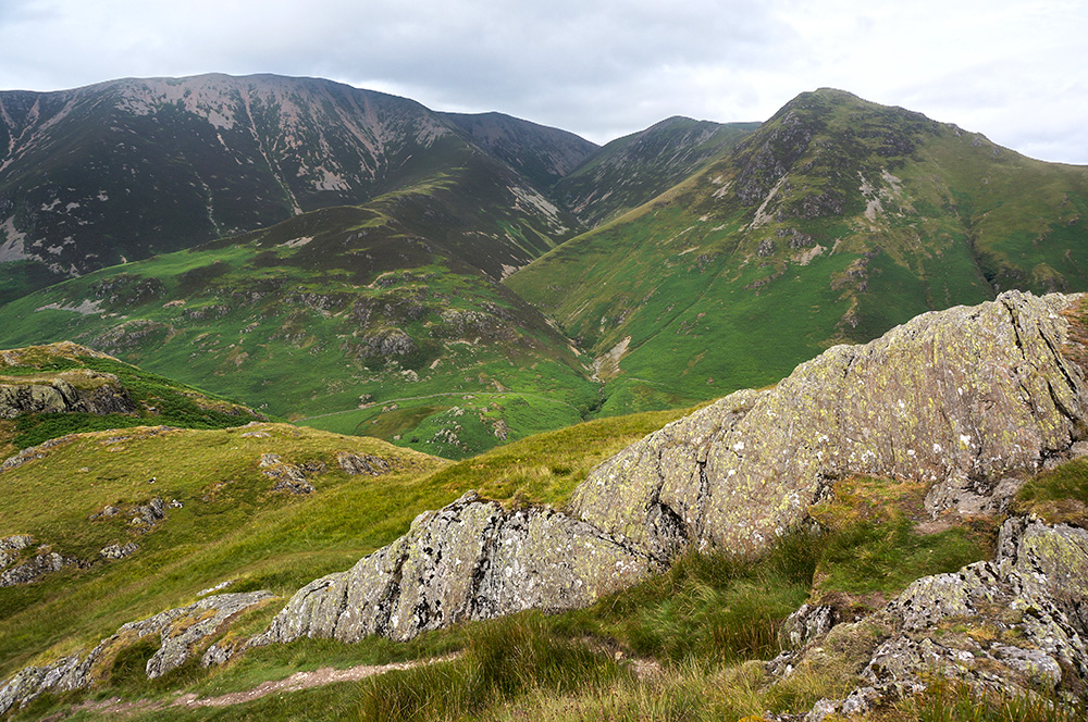 Grasmoor from Rannerdale Knotts