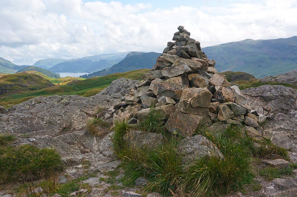 High Rigg summit cairn