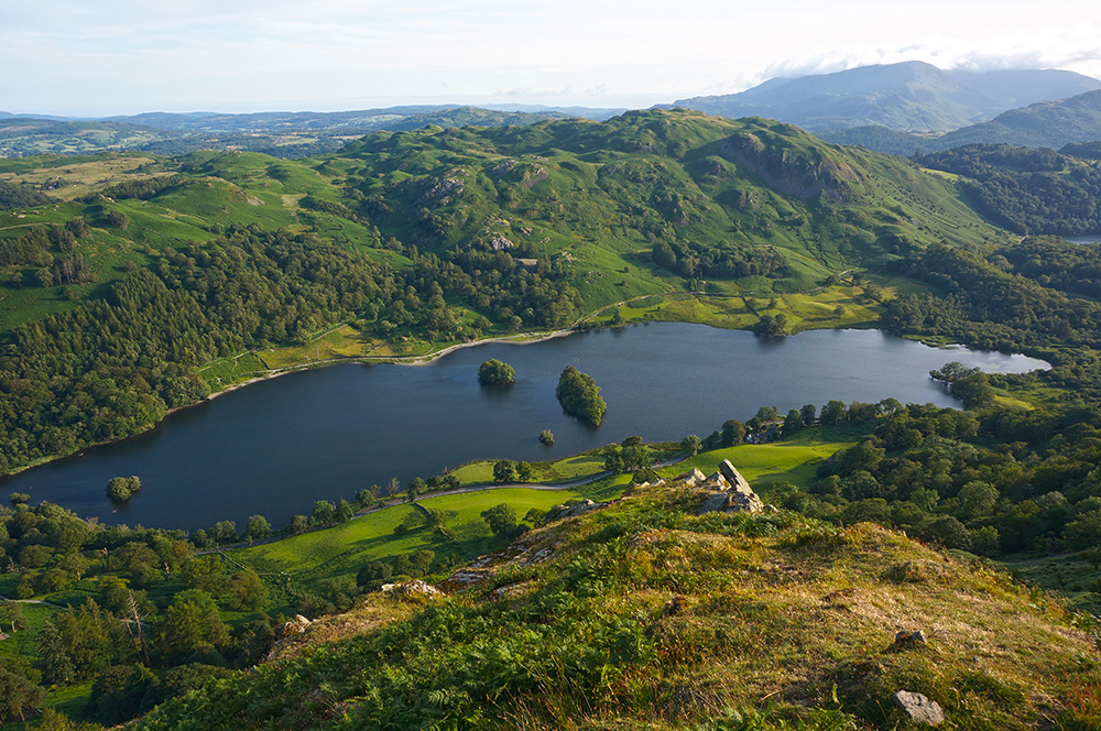 Rydal Water and Loughrigg Fell