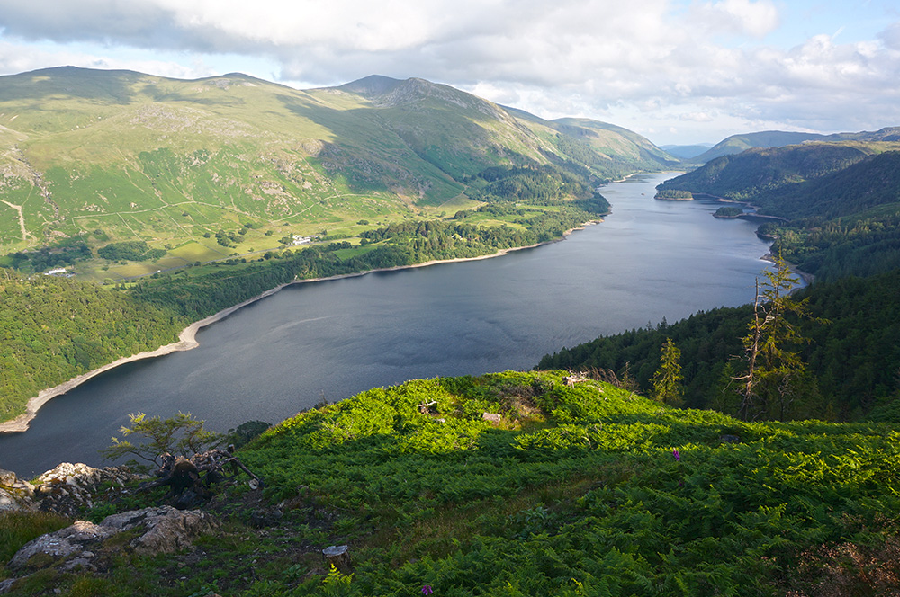 Thirlmere from Raven Crag