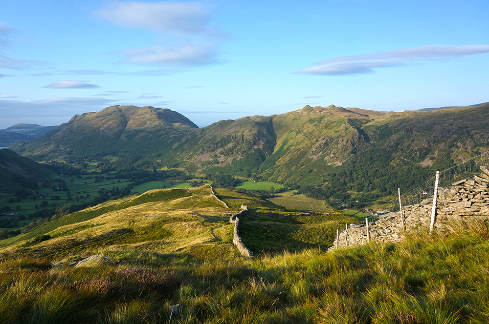 Place fell and Angletarn Pikes