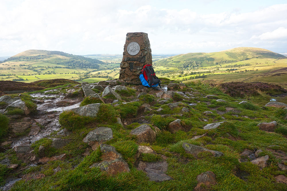 Gowbarrow Fell summit